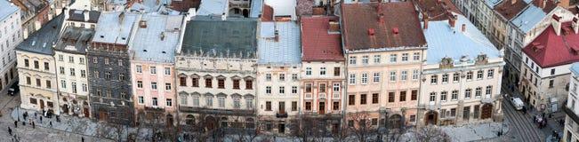 Lviv sikt Arkivbild