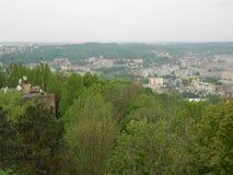 Lviv. Species in Lviv. Very beautiful Royalty Free Stock Photo