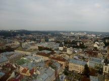 Lviv stadshus Royaltyfri Fotografi
