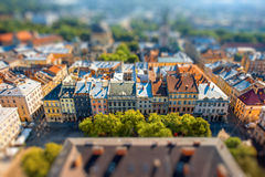 Lviv stary miasto w Ukraina Fotografia Stock