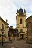 Lviv  streets of the old city Royalty Free Stock Photography