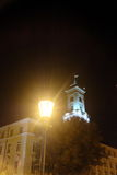 Lviv Town Hall at night Royalty Free Stock Images