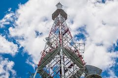 Lviv TV tower Royalty Free Stock Images