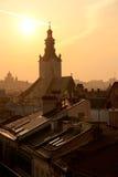Lviv, Ucrânia Imagens de Stock