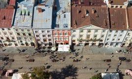 Lviv Ucrânia imagem de stock royalty free