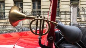 Lviv, Ucrânia - 27 de junho de 2017: Anos soviéticos do carro 30 xx GAZ-A Fotografia de Stock Royalty Free