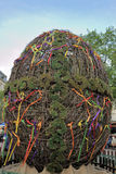 LVIV, UCRÂNIA - LVIV O 2 DE MAIO: O ovo da páscoa - símbolo do HOL da Páscoa Foto de Stock Royalty Free