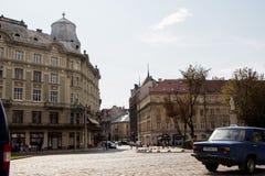 Lviv ucrania Fotos de archivo libres de regalías