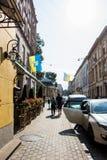 Lviv ucrania Fotografía de archivo