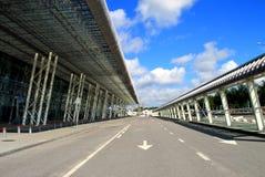 Lviv, Ucrania, aeropuerto internacional Imagen de archivo libre de regalías