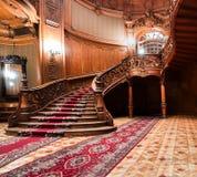 LVIV, UCRANIA - 16 de noviembre de 2015: Casa de científicos - un casino nacional anterior 16 de noviembre de 2015 Lviv, Ucrania Fotos de archivo