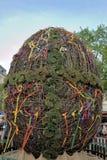 LVIV, UCRANIA - LVIV 2 DE MAYO: El huevo de Pascua - símbolo de HOL de Pascua Foto de archivo libre de regalías