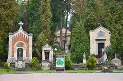 Lviv, Ucrania, septiembre, 16, 2013 Cementerio de Lychakiv - el más viejo de Lviv Imagen de archivo
