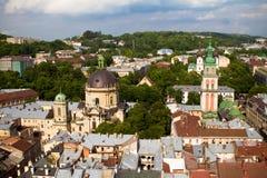 Lviv Ukraina Arkivbild
