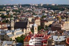 Lviv Ukraina royaltyfri foto