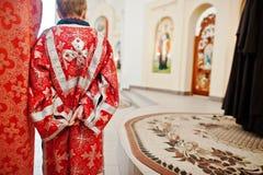 LVIV UKRAINA - APRIL 27, 2016: Passion för helig vecka och död av J royaltyfri fotografi