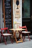 Lviv Ukraina -01 2016 Kwiecień Wejście pub w cencie Zdjęcie Royalty Free