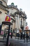 Lviv Ukraina, Marzec, - 29, 2018 Wielkanocny festiwal w Lviv Obrazy Royalty Free