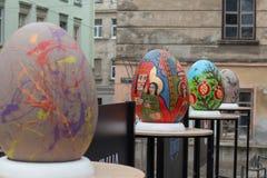 Lviv Ukraina, Marzec, - 29, 2018 Wielkanocny festiwal w Lviv Obraz Royalty Free