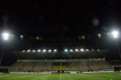 LVIV UKRAINA, Październik, - 19, 2018: Ogólny widok S, stadium ' fotografia stock