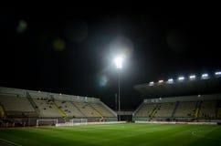 LVIV UKRAINA, Październik, - 19, 2018: Ogólny widok S, stadium ' zdjęcia stock