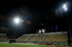 LVIV UKRAINA, Październik, - 19, 2018: Ogólny widok S, stadium ' obrazy royalty free