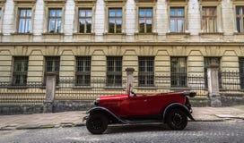 Lviv, Ukraine - 27 juin 2017 : Années soviétiques de la voiture 30 xx GAZ-A Images stock