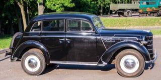 Lviv, Ukraine - June 2015: Auto festival Leopolis grand prix 2015. Old vintage retro car Royalty Free Stock Photography