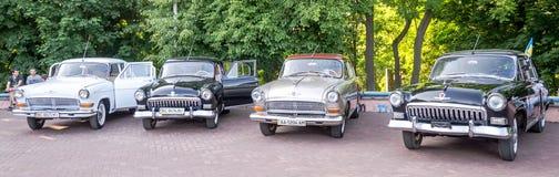 Lviv, Ukraine - June 2015: Auto festival Leopolis grand prix 2015. Old vintage retro car Stock Photo