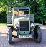 Lviv, Ukraine - June 2015: Auto festival Leopolis grand prix 2015. Old vintage retro car Stock Image