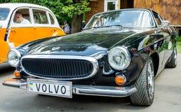 Lviv, Ukraine - June 2015: Auto festival Leopolis grand prix 2015. Old vintage retro car Volvo Stock Photo
