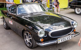 Lviv, Ukraine - June 2015: Auto festival Leopolis grand prix 2015. Old vintage retro car Volvo Stock Image