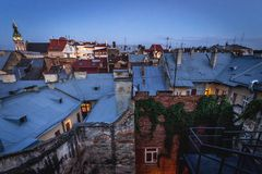 Lviv in Ukraine Stock Image