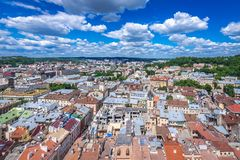 Lviv in Ukraine Stock Photos