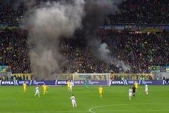 LVIV, UKRAINE - NOWEMBER 14: Terrorists fans Stock Images