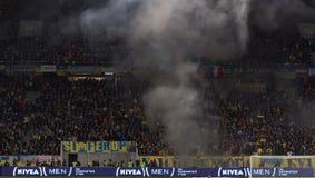 LVIV, UKRAINE - NOWEMBER 14: Terrorists fans Stock Image