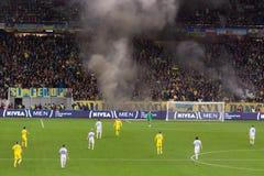 LVIV, UKRAINE - NOWEMBER 14: Terrorists fans Royalty Free Stock Photo