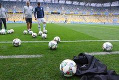 UEFA Nations League: Ukraine - Slovakia royalty free stock images