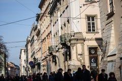 Lviv unique architecture Stock Images