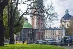 Lviv velho Imagem de Stock