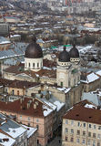 Lviv at winter Royalty Free Stock Photos