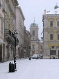 Lviv at winter Stock Images