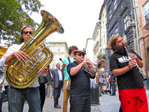 LvivKlezFest, Lviv Ουκρανία Στοκ Εικόνες