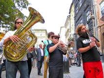 LvivKlezFest Lviv Ukraina Arkivbilder