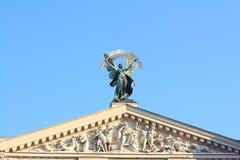 Lvivs Oper Stockfoto