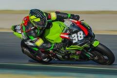LVM fährt Team 24 Stunden Catalunya-Motorradfahren Lizenzfreie Stockfotos