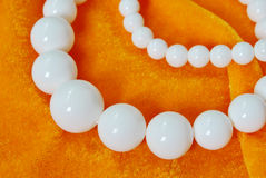 Lvory beads jewelry accessories Stock Photography