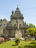 Lvov, cathedral of Saint Andrey Royalty Free Stock Photo