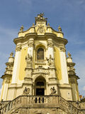 Lvov, cathedral of Saint Yura Stock Images