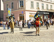 Lvov, City Day Stock Photography